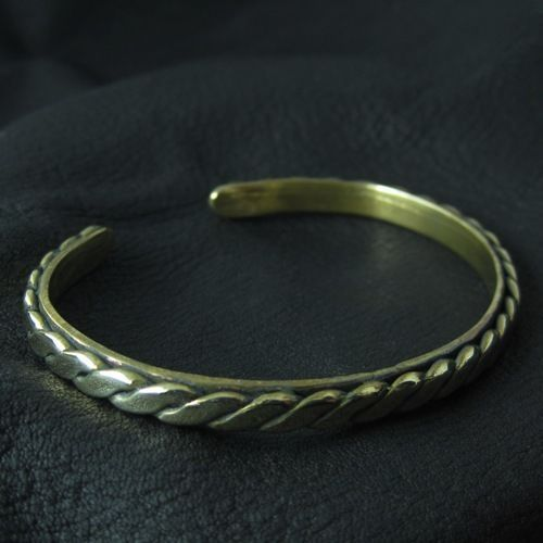 Bronze medieval bracelet. Reenactment. Medieval. Slavic. SCA.