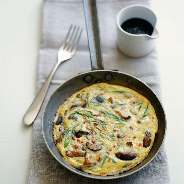 Découvrez la recette de l'omelette aux cèpes