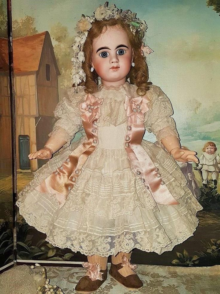 ~~~ Superb First Period French Bisque Bebe Girl by Denamur ~~~ from whendreamscometrue on Ruby Lane