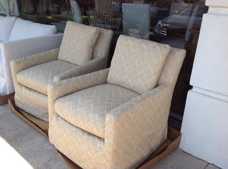 3907 41 Swivel Chairs In Fairhope Butternut. Swivel ChairLee Industries