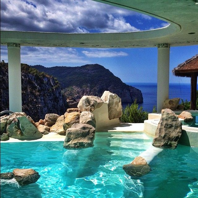 WOW...Hotel & Spa Hacienda Na Xamena in Ibiza. I mean mean, COME ON!