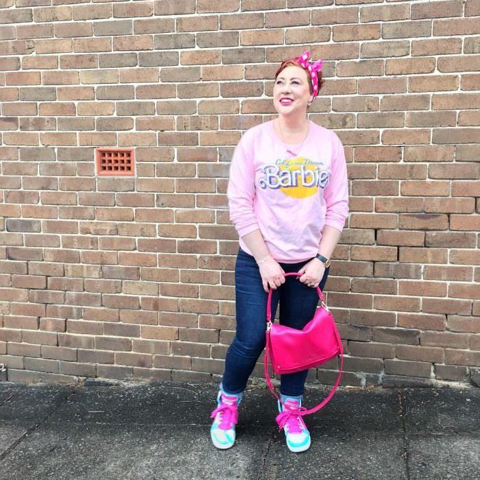 H2T pink for Spring Fling Style File with Kimba Likes and She Writes