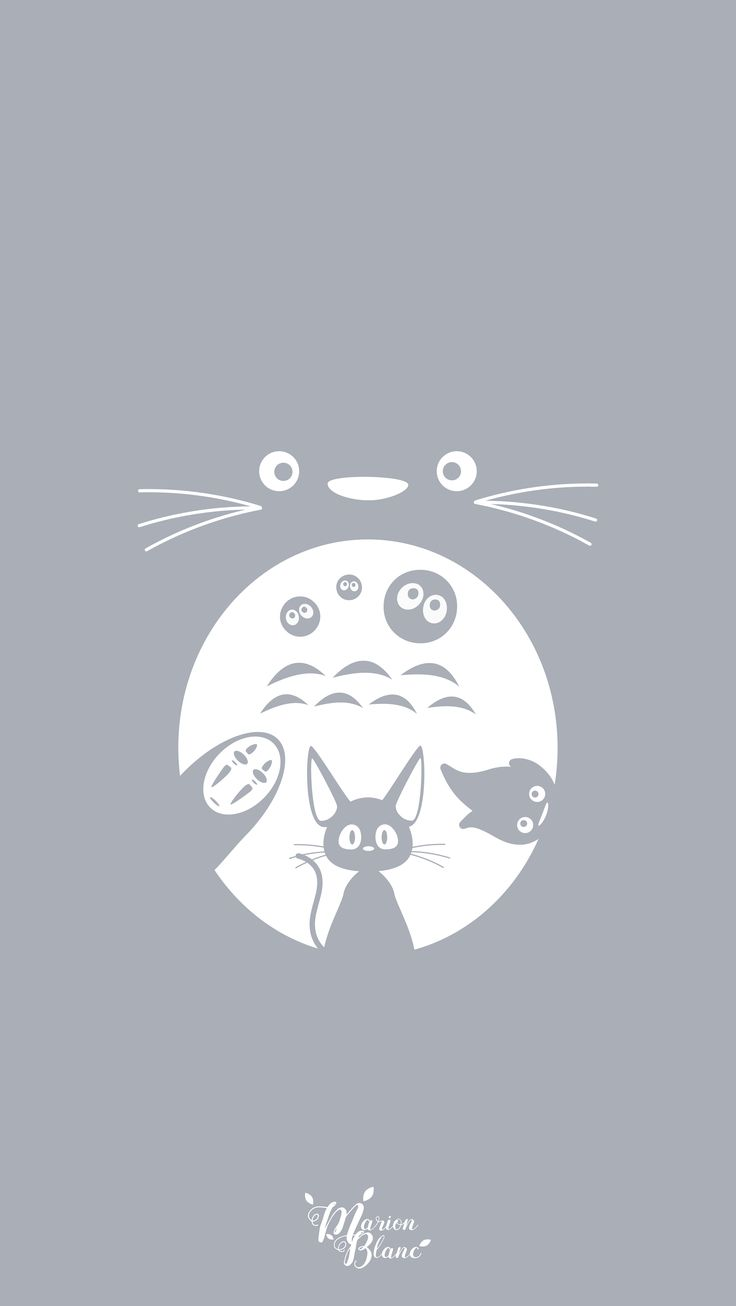 Ghibli Marion Blanc Click. Save. Screen Saver