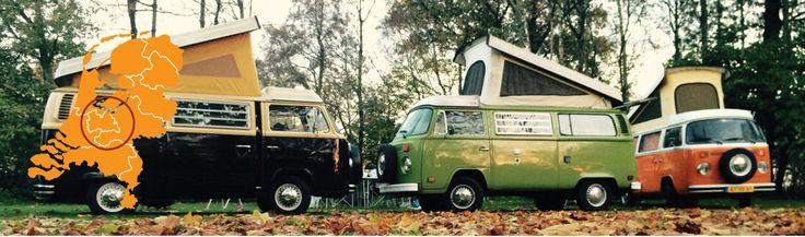 Volkswagen vintage kleuren