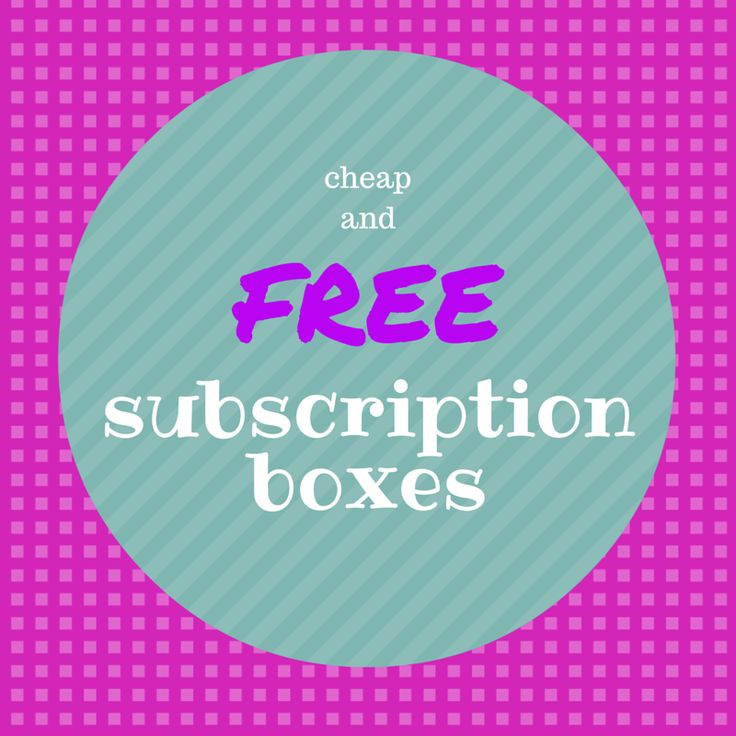Free Subscription Boxes - Great deals, #freebies, trial offers and more! http://hellosubscription.com/free-subscription-boxes/