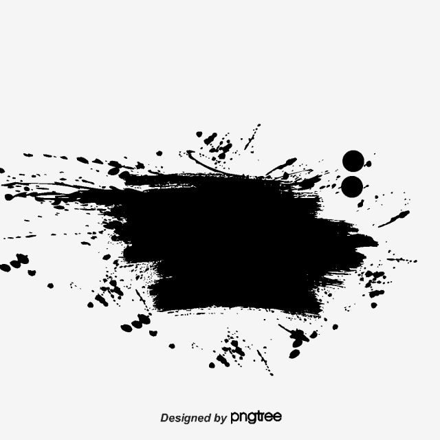 2020 的 Ink Brush Effect Ink Brush Watercolor Png And Vector