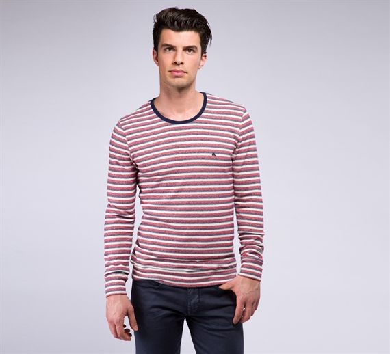 MFL140/N - Cycle #cyclejeans #man #apparel #springsummer #collection #style #fashion #stripes #striped #tshirt