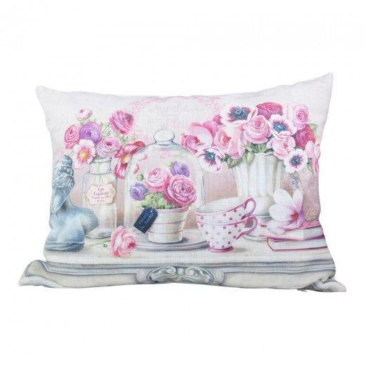 Clamart Flower Still Life Cushion 46x33