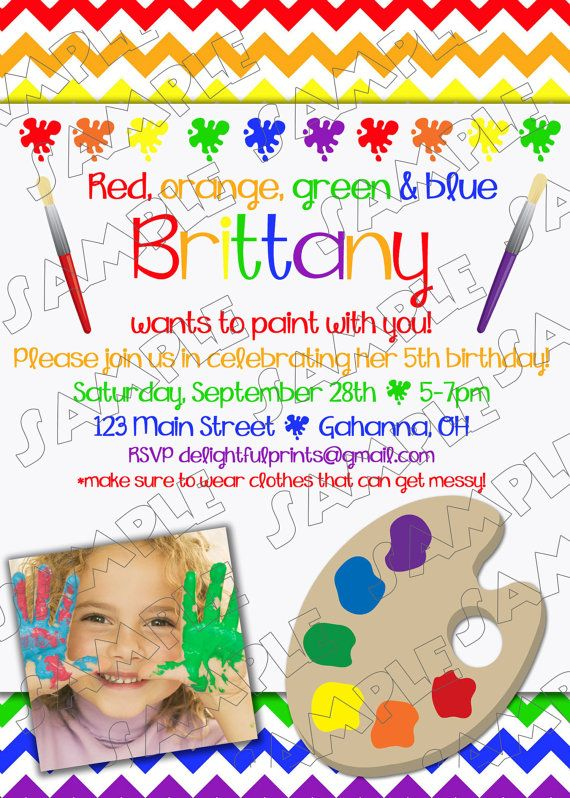Kids Painting Pictures Printable