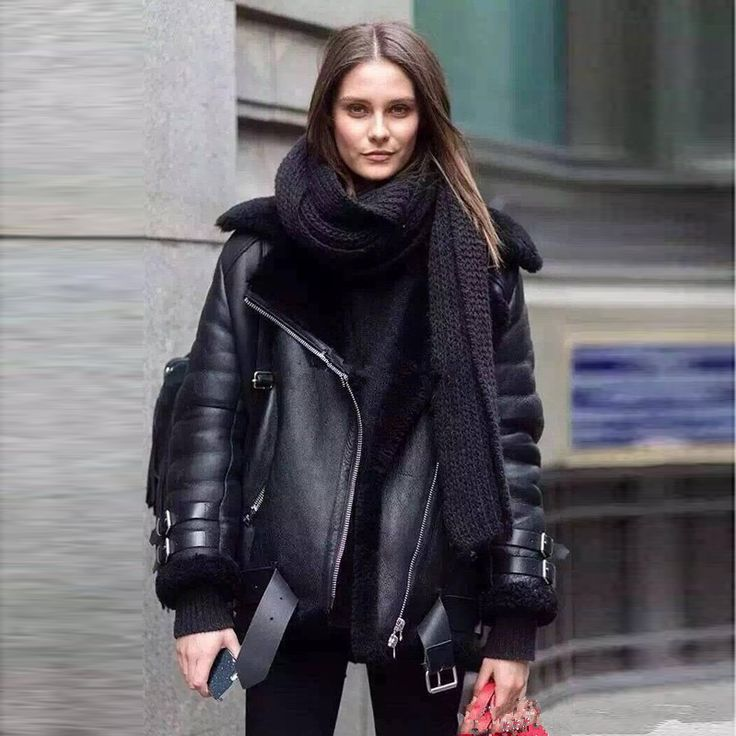 [TWOTWINSTYLE] 2016 winter thick leather fur jacket women basic coats long sleeves new motorcycle streetwear-in Basic Jackets from Women's Clothing & Accessories on Aliexpress.com | Alibaba Group