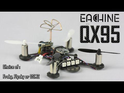 Eachine Tiny QX95 95mm Micro FPV LED Racing Quadcopter Based On F3 EVO Brushed Flight Controller  Sale - Banggood.com