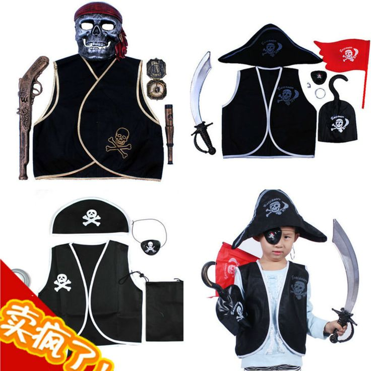 >> Click to Buy << Halloween party accessories Children and Adult Pirate clothes set for sale Fancy Cosplay Party show #Affiliate