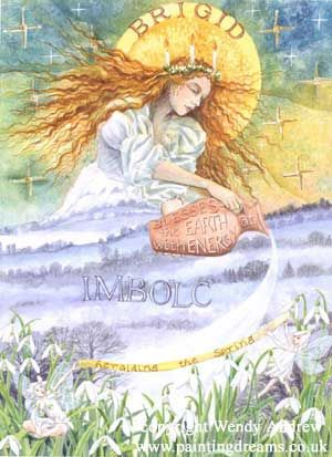Imbolc, the Triumph of Spring #Wicca #Pagan #Imbolc
