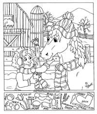Free Printables - Hidden Pictures Puzzles