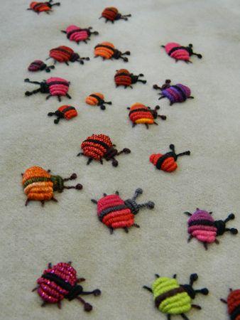 Sue Spargo. Folk Art Quilt Quilting Rubans Fournitures teint à la principale de velours de laine électrique Quilt CD à vendre DANS Ohio