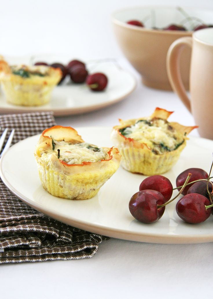 Italian-Style Baked Egg Cups | Recipes-Food | Pinterest
