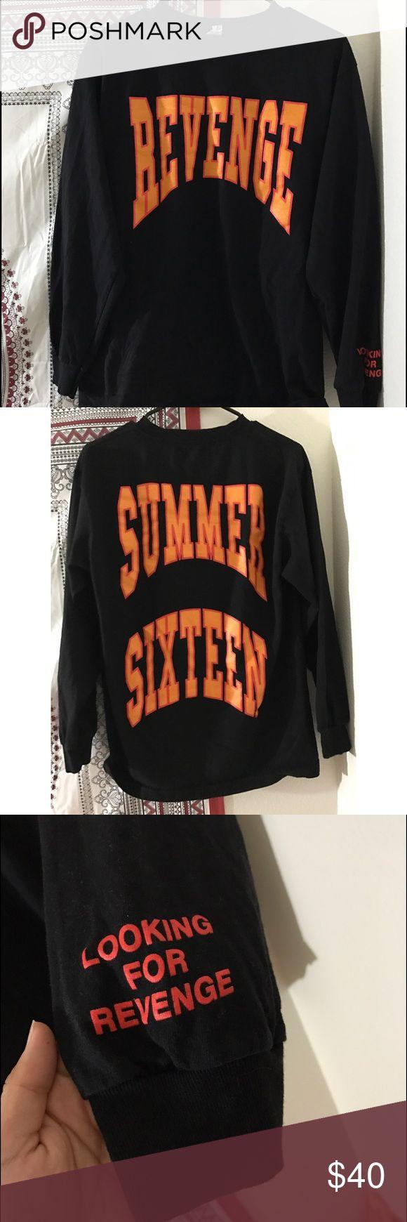 "Drake ""Revenge"" pullover Really cute oversized! Original Drake Merch. Tops Sweatshirts & Hoodies"