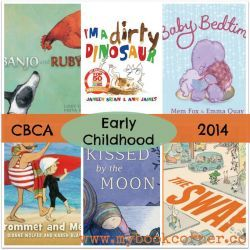 CBCA Book Awards Shortlist 2014 ~ Early Childhood picture books