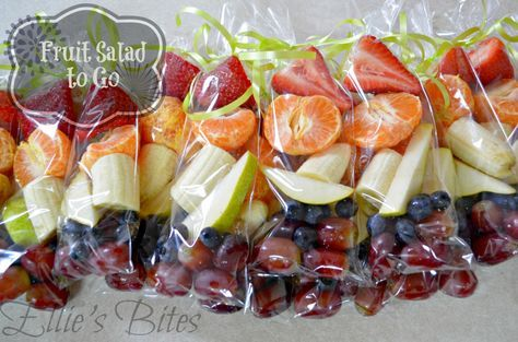 Fruit Salad (To Go) perfect for classroom parties and summer events