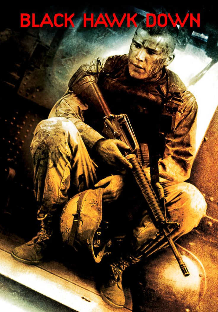 Black Hawk Down best war movie I've seen non stop war action from start to finish.. Keeps you on the edge of your seat.. Don't tip the coke..