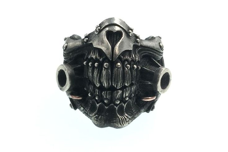 Made to Order Handcrafted Mad Max Immortan Joe Mask Ring