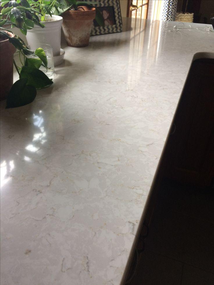 Silestone Lusso quartz countertop It looks so pretty here