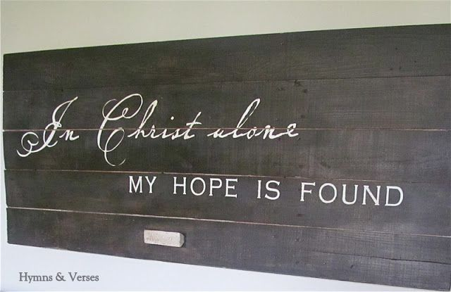 Who Hangs a Barn Door on the Wall? | Hymns and Verses