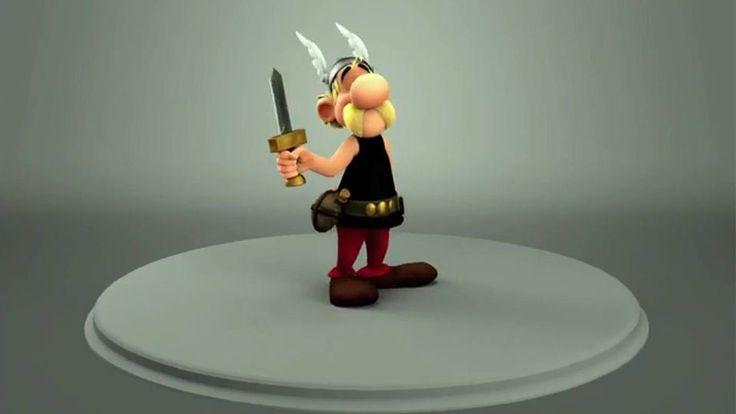 Making of Astérix Le domaine des dieux, Astérix Le domaine des dieux, Mikros Image, Making of, 3d animation, 3d, animation, animated, CGI Animation, Astérix, Astérix – Le Domaine des Dieux, CGI, Asterix,