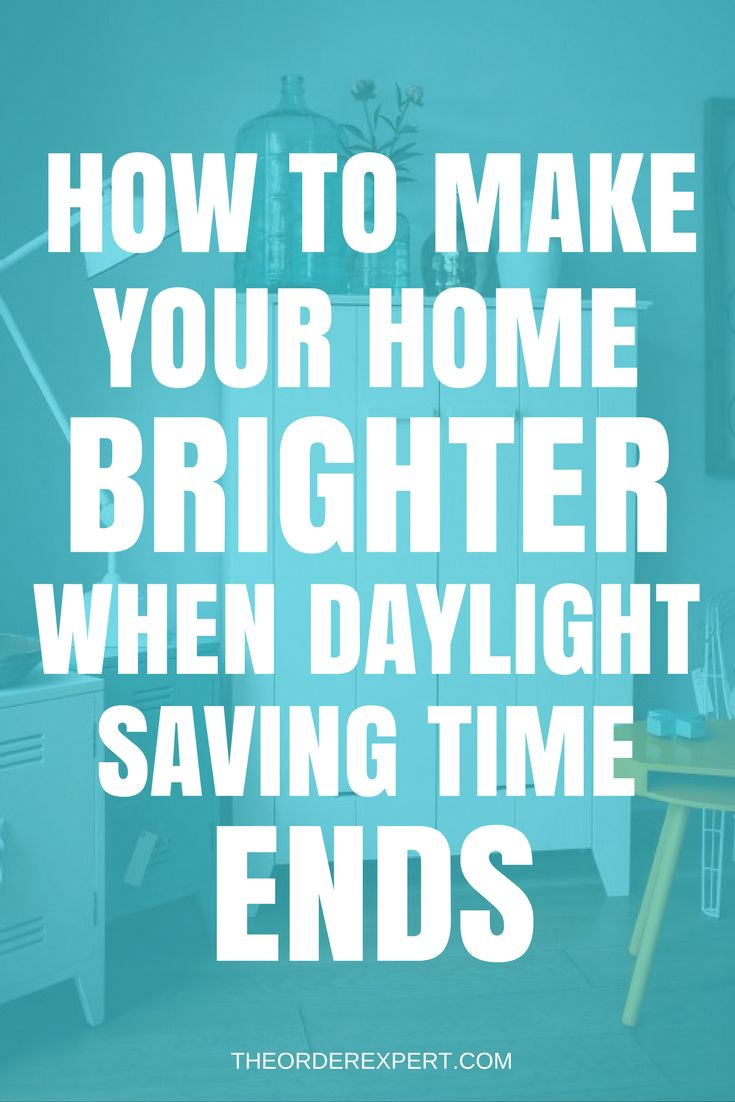 "Is Daylight Saving Time observed where you live? Are you interested in brightening things up in your home when it's time to ""fall"" back? When Daylight Saving Time (DST) comes to an end, early morning sunrises and all-too-early afternoon sunsets, affects millions of households. No matter which timezone you may live in, it's always a good idea to take regular stock of the lighting inside your home. Pin now and read later!"