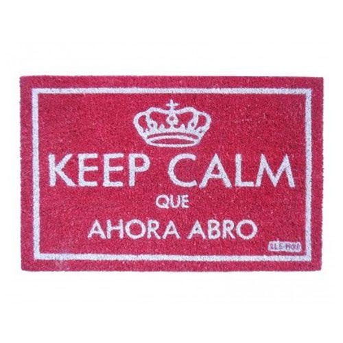 Felpudo Keep Calm