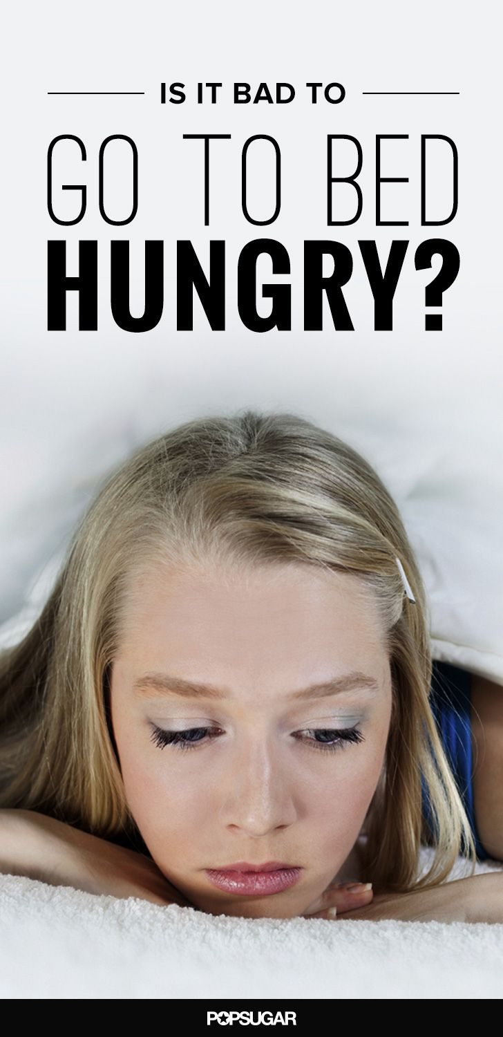 If you're trying to lose weight, is it better to go to bed with a little something in your belly or absolutely nothing?