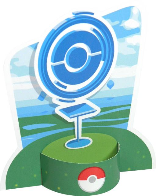 Pokémon GO PokéStop Free Paper Toy Download - http://www.papercraftsquare.com/pokemon-go-pokestop-free-paper-toy-download.html#PokémonGO, #PokéStop