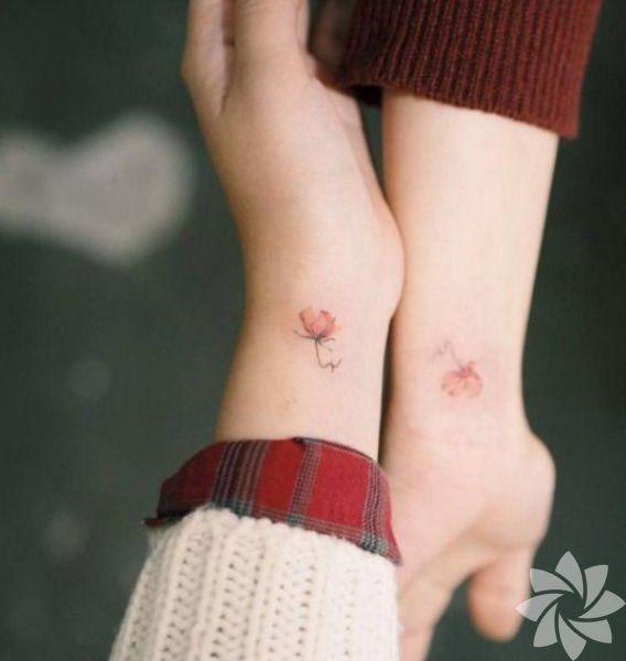 En güzel arkadaş dövmeleri