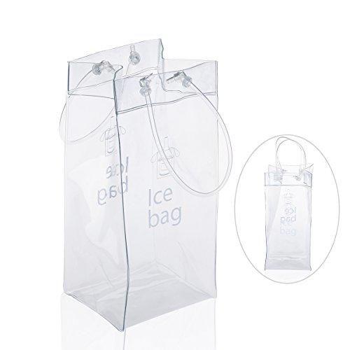 Oferta: 5.99€ Dto: -68%. Comprar Ofertas de LEORX Bolso de hielo - Champagne PVC bolsa vino Bolsa nevera con asa barato. ¡Mira las ofertas!