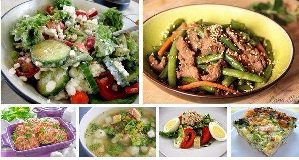 6 рецептов фитнес ужина!    Ужин должен состоять из белка и овощей. Овощей в два раза больше. чем белка.    Белок должен быть легким: рыба, морепродукты, творог, белый сыр, типа моцарелы или адыгейского, яйца, фасоль, чечевица, грибы.  Из овощей на ужин хороши цветная капуста, зеленый салат, болгарский перец, томаты, брокколи, сельдерей, тыква, лук-порей, авокадо, топинамбур, а также огурцы, кабачки и цуккини в сезон.  В идеале половина овощей на ужин должны быть сырыми, вторая половина —…