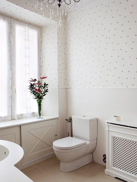 Los ambientes rústicos también se pueden crear eligiendo el papel pintado…