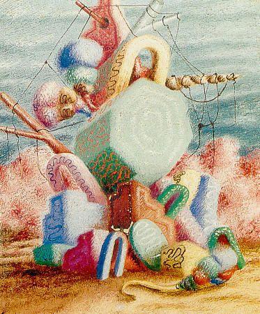 L'île du trésor, Alberto Savinio, 1928