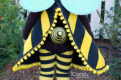 The Train To Crazy: Handmade Costume Series: DIY Bumble Bee Costume Tutorial