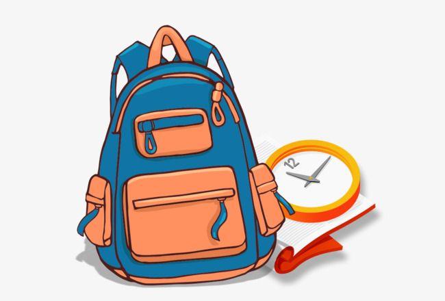 الكرتون حقيبة Cartoon Bag School Activities New Poster