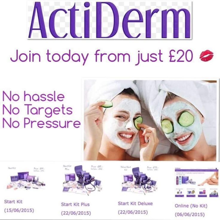Still sitting on the fence about joining ActiDerm???? At