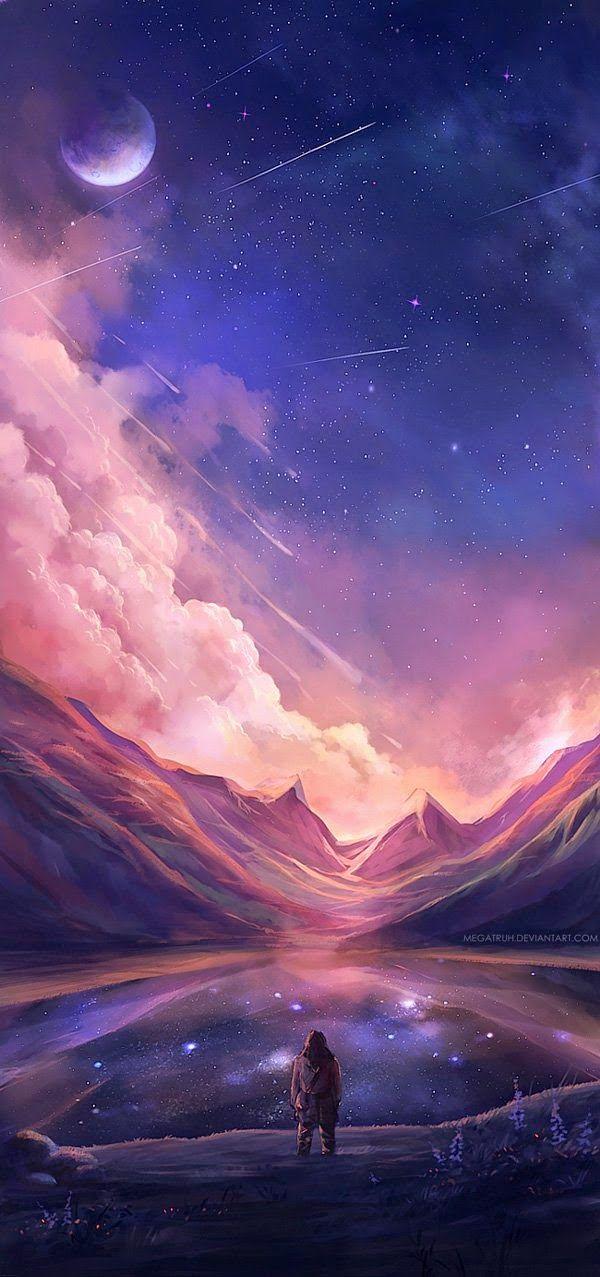 Красивые пейзажи Digital Art на Никен Anindita