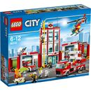 Lego City: Fire Station (60110) 60110 Jump into action and save the hot dog stand¦ and lunch! Help the firefighters get the truck and helicopter loaded with gear! It™s lunchtime, so take a slide down the pole in the firehouse and head to  http://www.MightGet.com/january-2017-11/lego-city-fire-station-60110-60110.asp