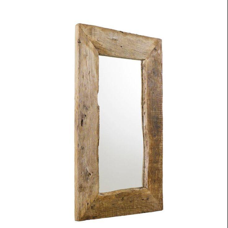 Spiegel Altholz Eiche, ca. 60x100 cm Wandspiegel kaufen