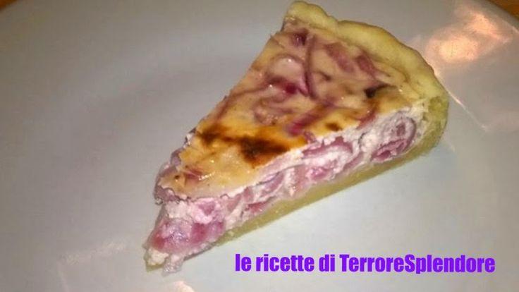 Le ricette di TerroreSplendore: antipasti - Torta con cipolle yogurt greco