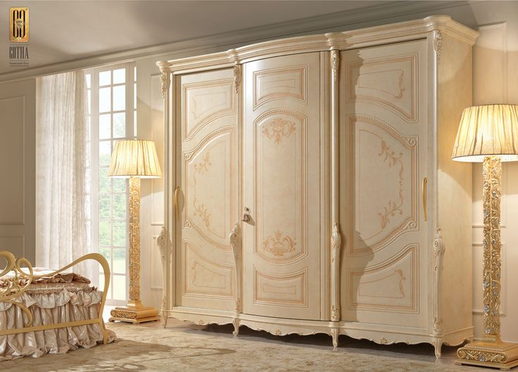 Armadio Aurora Barocco - Gotha Luxury Bedroom Forniture #GothaLuxury #luxury #bedroom #classic
