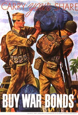 US Buy War Bonds (1940s). JAN16