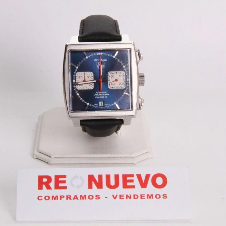 Reloj TAG HEUER MONACO CAW2111 de segunda mano E279592 | Tienda online de segunda mano #TagHeuer #Segundamano