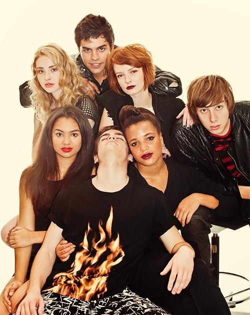 Skins UK, season 6 gah im on season 5!