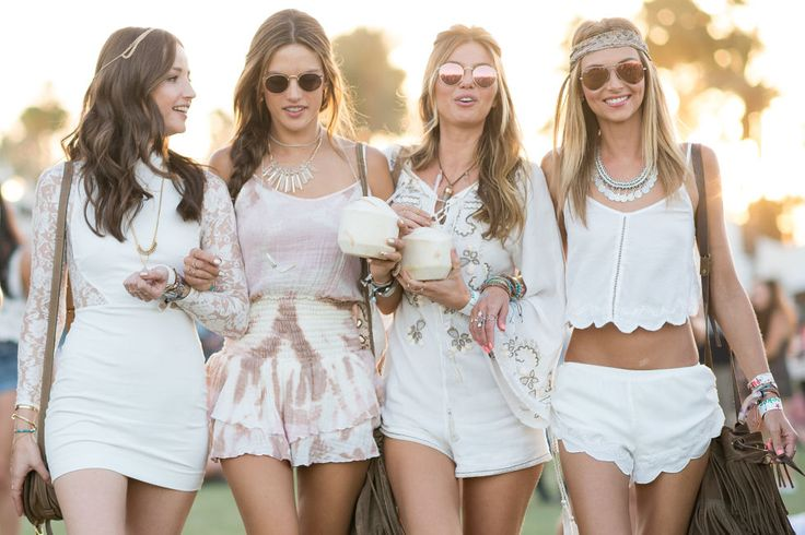 ELLE.com photographer Tyler Joe captures the coolest fashion at Coachella. See what everyone, including Kendall and Gigi, wore.