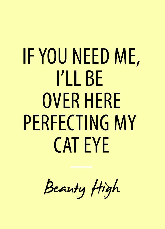 cat eye quote